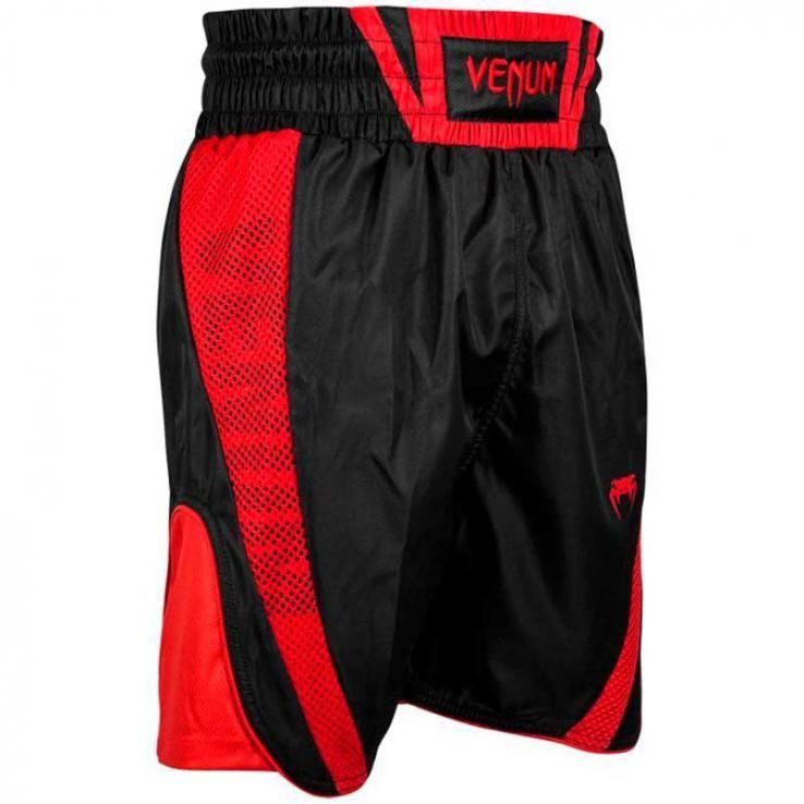Pantalones De Boxeo Venum Elite negro/rojo