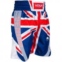 Pantalones De Boxeo Venum Elite UK Azul/Rojo-Blanco