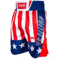 Pantalones de Boxeo Venum Elite USA rojo-blanco/azul