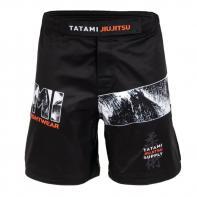 Pantalones MMA Tatami Tropic Black Grappling Shorts