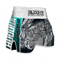 Pantalones Muay Thai Buddha Retro Dark Angels