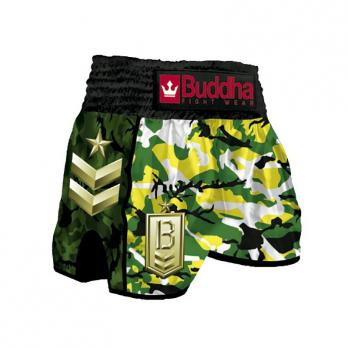 Pantalones Muay Thai Buddha Retro Army Jungle