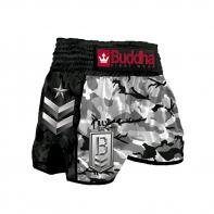 Pantalones Muay Thai Buddha Retro Army Shadow