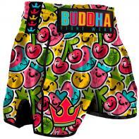 Pantalones Muay Thai Buddha Retro Fruit Niños