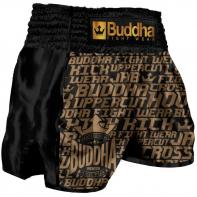 Pantalones Muay Thai Buddha Retro Golden