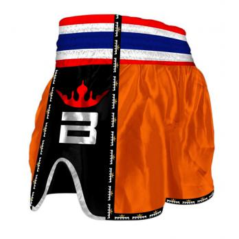 Pantalones Muay Thai Buddha Retro Naranja