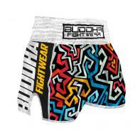 Pantalones Muay Thai Buddha Retro Pacman