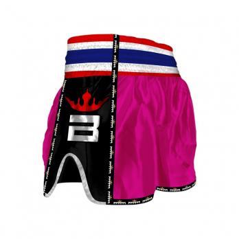 Pantalones Muay Thai Buddha Retro Rosa