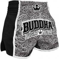 Pantalones Muay Thai Buddha Retro Tattoo Niños