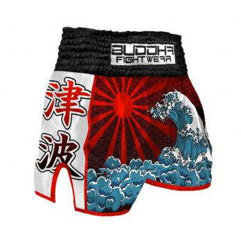 Pantalones Muay Thai Buddha Retro Tsunami