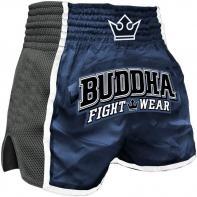 Pantalones Muay Thai Buddha Retro X Azul Niños