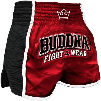 Pantalones Muay Thai Buddha Retro X Rojo