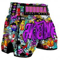 Pantalones Muay Thai Buddha Zippy