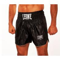 Pantalones Muay Thai Leone Basic Negro