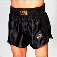 Pantalones Muay Thai Leone Essential negro