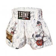Pantalones Muay Thai Leone Ramón Jr Kids Blanco
