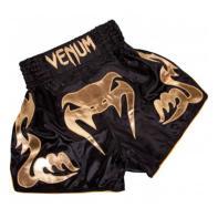 Pantalones Muay Thai Venum  Bangkok Inferno negro / oro