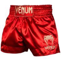 Pantalones Muay Thai Venum Classic rojo