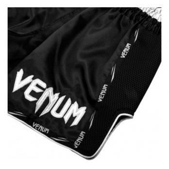Pantalones Muay Thai Venum Giant  Negro / Blanco