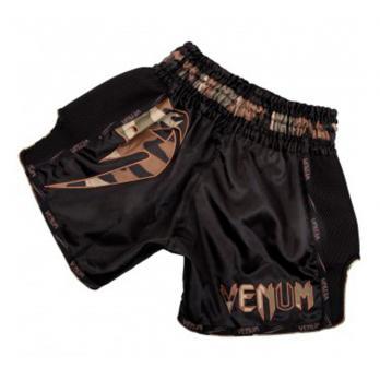 Pantalones Muay Thai Venum Giant  Negro / Forest Camo