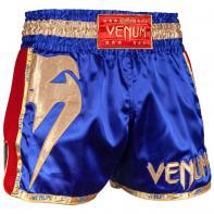 Pantalones Muay Thai Venum Giant azul