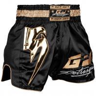 Pantalones Muay Thai Venum Petrosyan  negro / oro