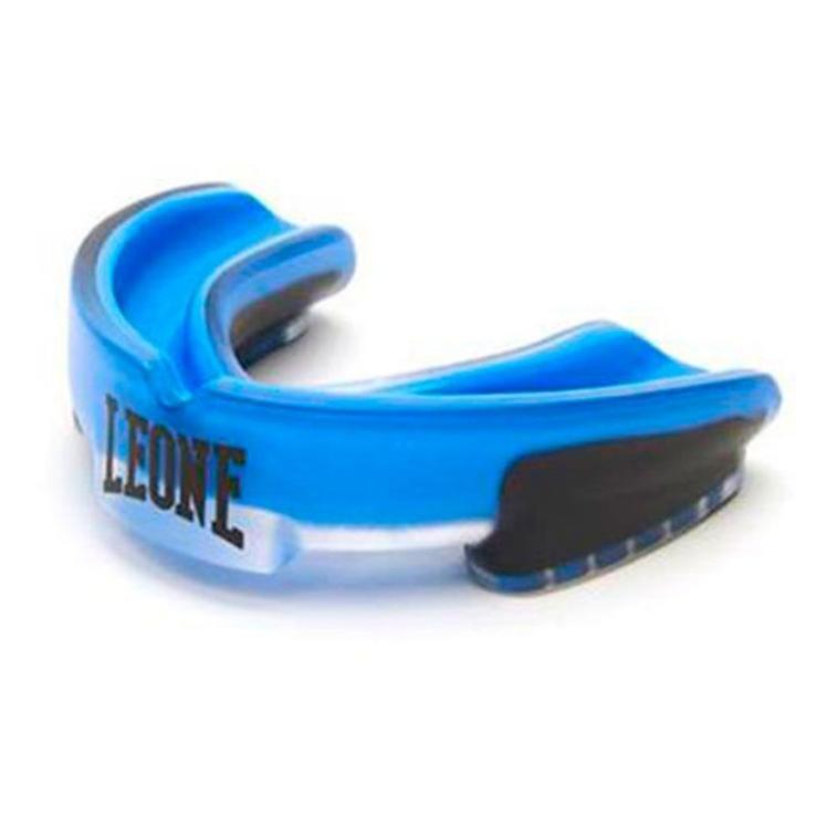 Protector Bucal  Leone Top Guard Gel Azul