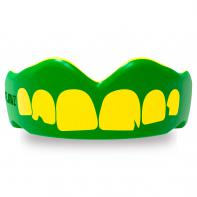 Protector Bucal SafeJawz Extro Series Self-Fit Ogre Verde/Amarillo
