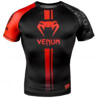 Rashguard  Venum Logos Negro/Rojo