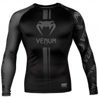 Rashguard  Venum Logos manga larga negro matte