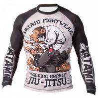 Rashguard Tatami  Thinker Monkey Manga Larga