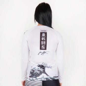 Rashguard Tatami Ladies Kanagawa blanco