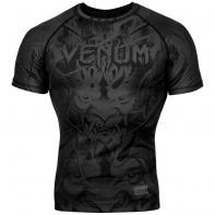 Rashguard Venum Devil negro matte