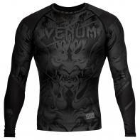 Rashguard Venum Devil negro matte Manga Larga