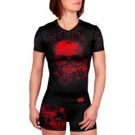 Rashguard Venum Ladies Santa Muerte 3.0 negro/rojo