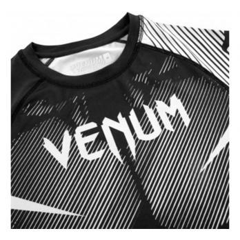 Rashguard Venum NOGI 2.0 Negro / Blanco