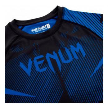 Rashguard Venum NOGI 2.0 Negro/ Azul