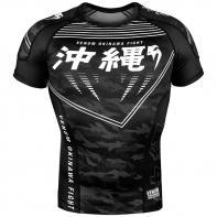 Rashguard Venum Okinawa 2.0 Negro/Blanco