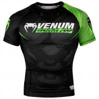 Rashguard Venum Training Camp 2.0 Negro/Neo Yellow