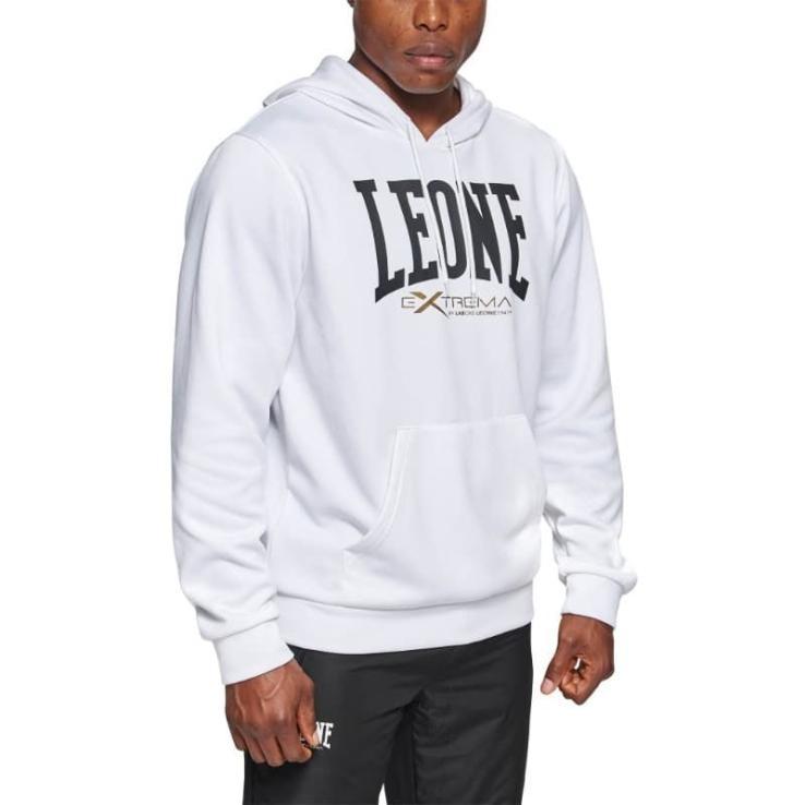 Sudadera Leone Logo blanco