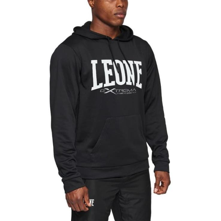 Sudadera Leone Logo negro