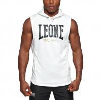 Sudadera Leone sin mangas Logo blanco