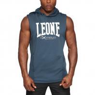 Sudadera Leone sin mangas Logo gris