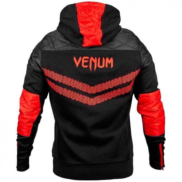 Sudadera Venum Laser 2.0 negro/rojo